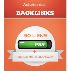 30 PR9 and 30 .Edu et .Gov Backlinks