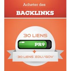 60 Liens d'autorités PR9, .Edu et .Gov