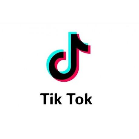 Achetez des abonnés Tik Tok