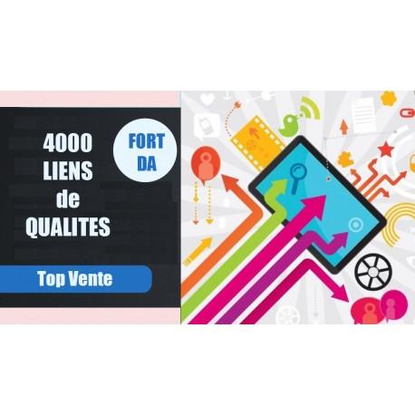 4000 liens contextuels sur site à fort DA